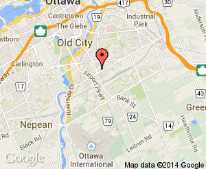 Map location of Jim Durrell Recreation Centre