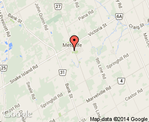 Map location of Metcalfe Client Service Centre
