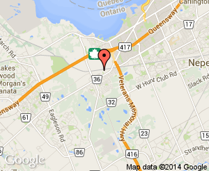 Map location of Nepean Creative Arts Centre