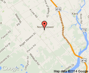 Map location of North Gower Marlborough Public School