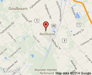 Map location of Richmond Lions Park