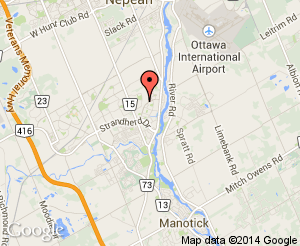 Map location of St. Andrew Catholic School