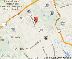 Map location of Bridlewood Community Centre