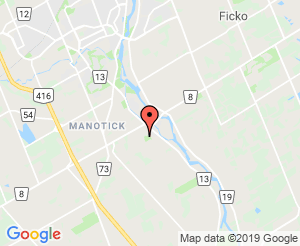 Map location of Manotick Community Centre