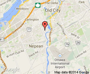 Map location of Carleton Heights Public School