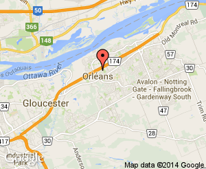 Map location of Convent Glen Elementary School