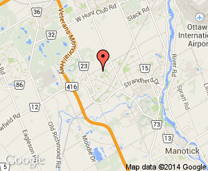 Map location of Barrhaven Public School