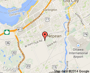 Map location of Nepean Seniors Centre